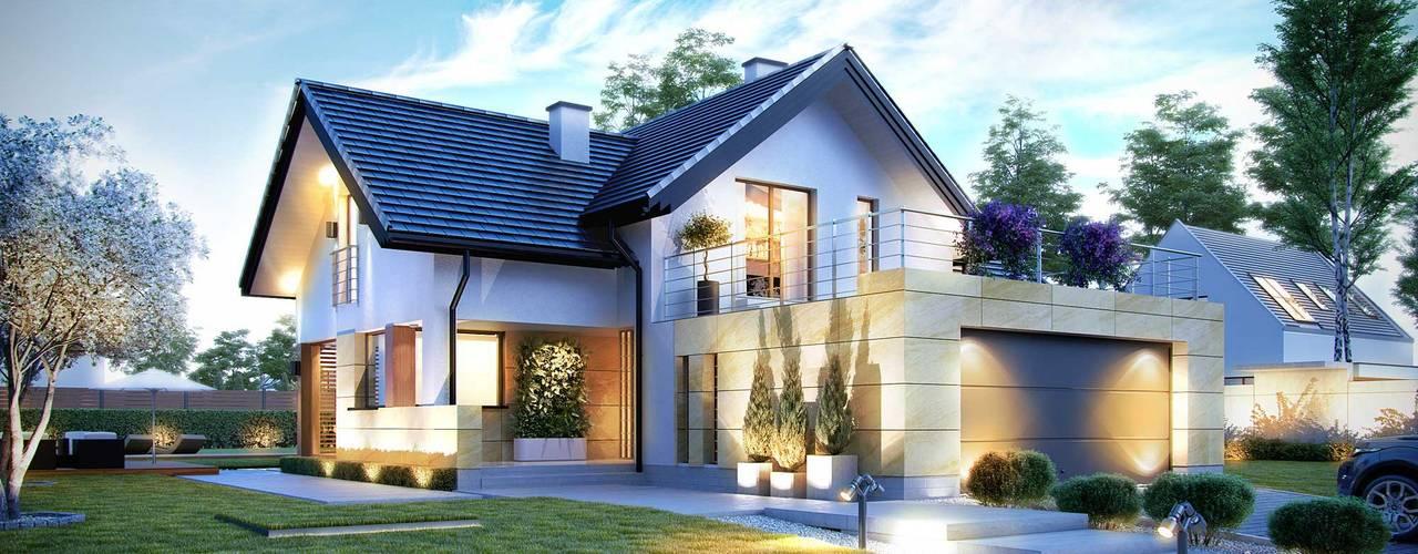 Rumah oleh HomeKONCEPT | Projekty Domów Nowoczesnych, Modern