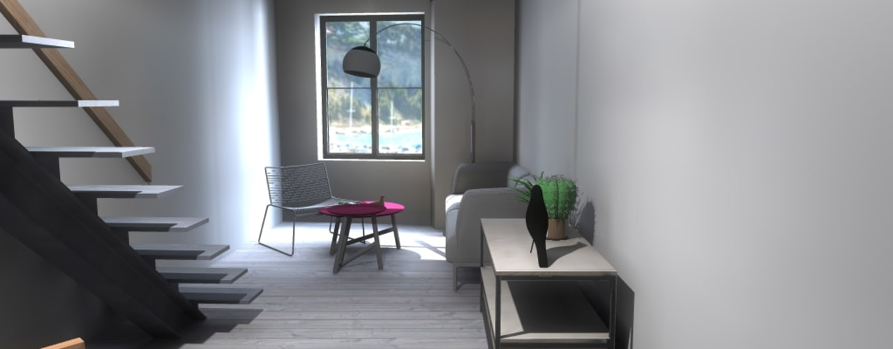 Salas de estar modernas por Claire de Bodinat / Archidesign