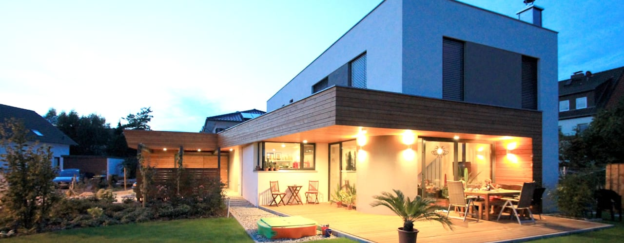 moderne Huizen door Architekturbüro Schumann