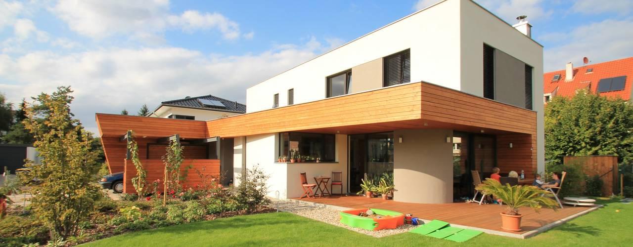 Architekturbüro Schumann Casas de estilo moderno