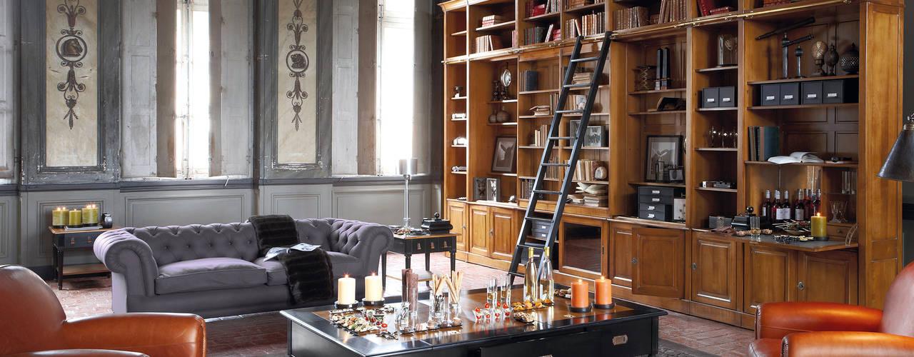 Ruang Studi/Kantor Klasik Oleh Grange México Klasik