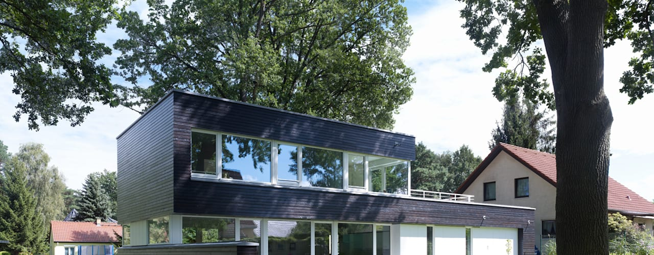 Maisons de style de style Moderne par Justus Mayser Architekt