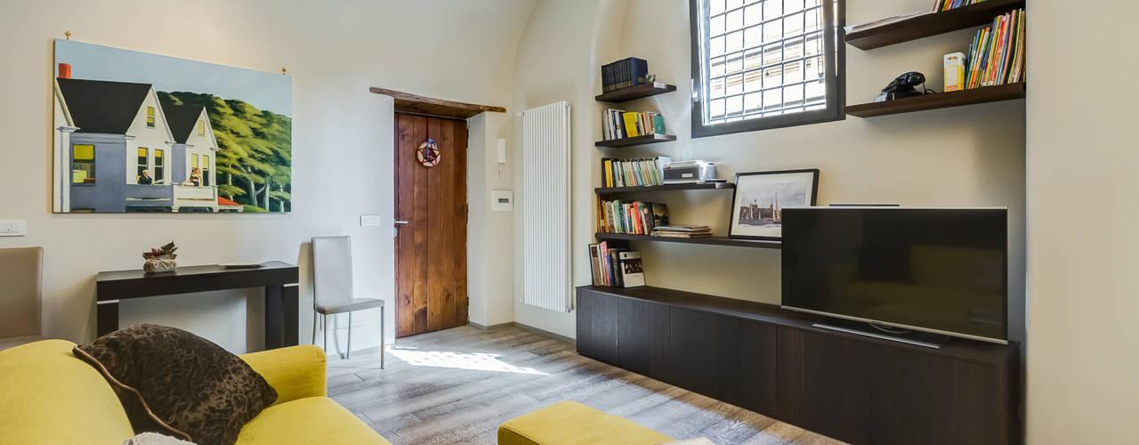 غرفة المعيشة تنفيذ EF_Archidesign, حداثي
