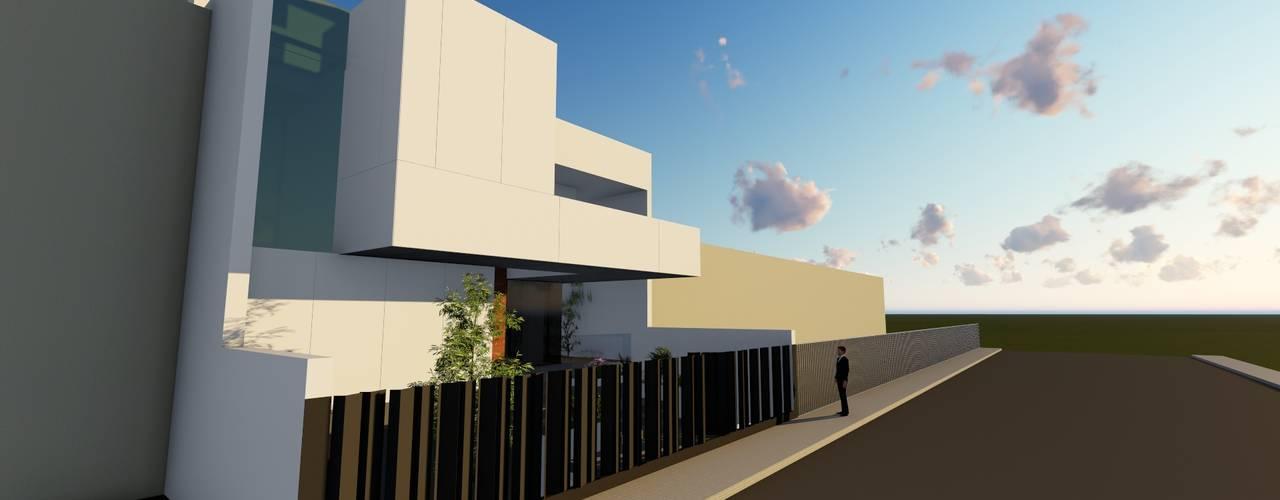 Projekty,  Domy zaprojektowane przez ESTUDIOMORENATE