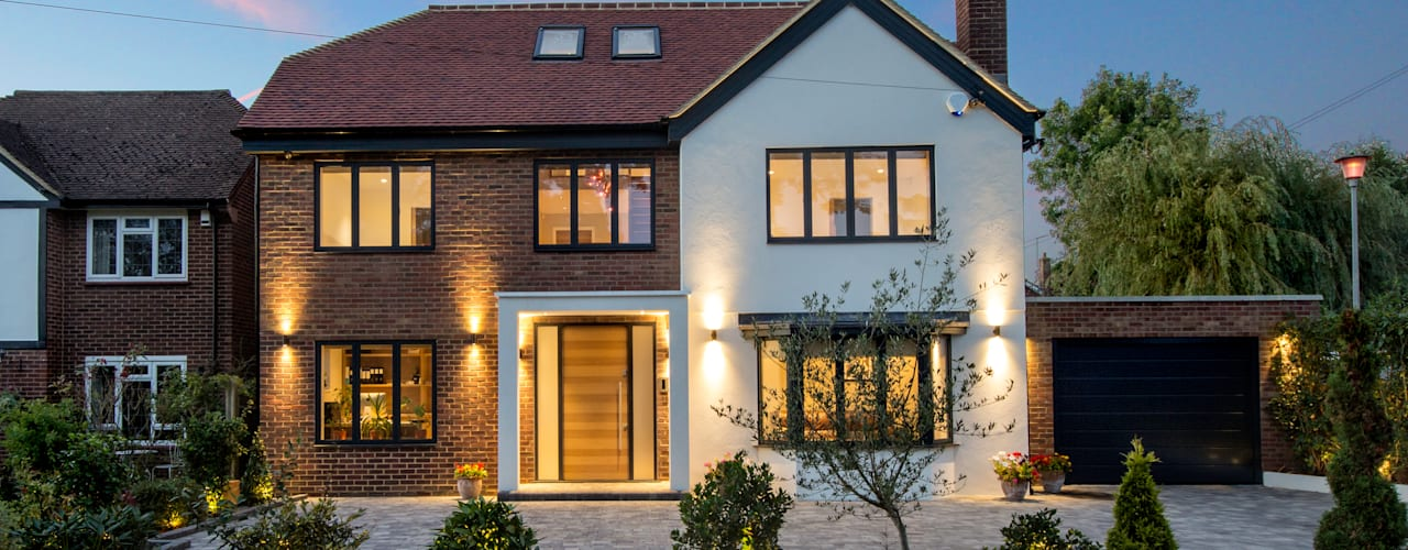 Hadley Wood - North London New Images Architects Modern houses