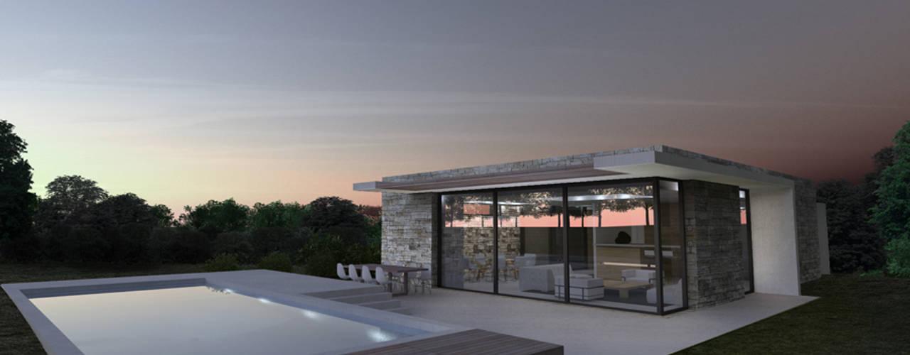 Rumah Modern Oleh ARRIVETZ & BELLE Modern