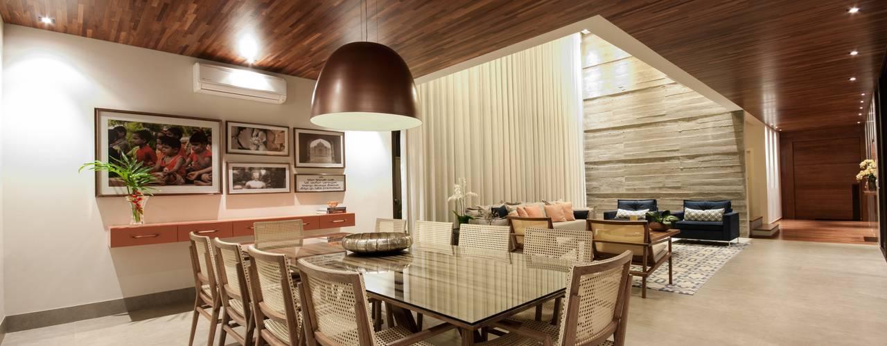 Ruang Makan Modern Oleh Elisa Vasconcelos Arquitetura Interiores Modern