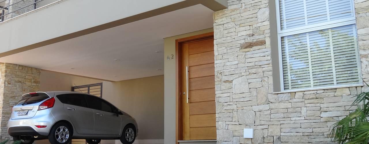 Casas de estilo rural de Lozí - Projeto e Obra Rural