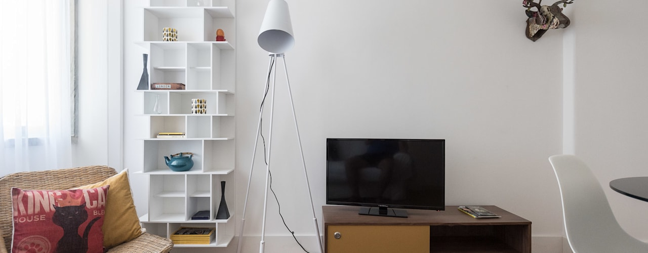 REMODELAÇÃO_APARTAMENTO AJUDA | Lisboa | PT por OW ARQUITECTOS lda | simplicity works Minimalista