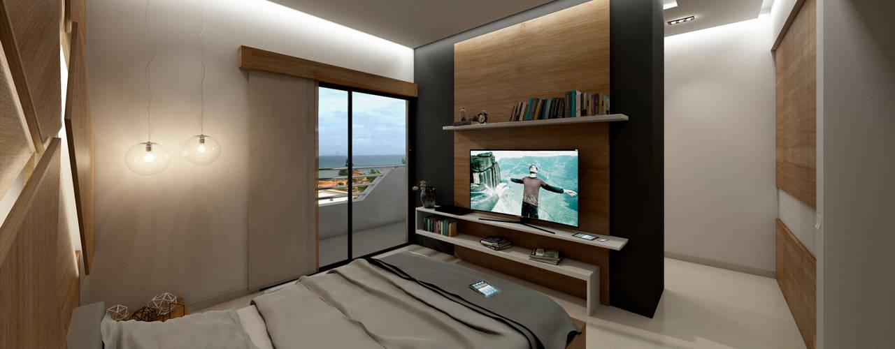Kamar Tidur oleh NOGARQ C.A., Modern