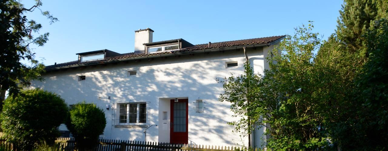 Projekty,  Domy zaprojektowane przez Beat Nievergelt GmbH Architekt