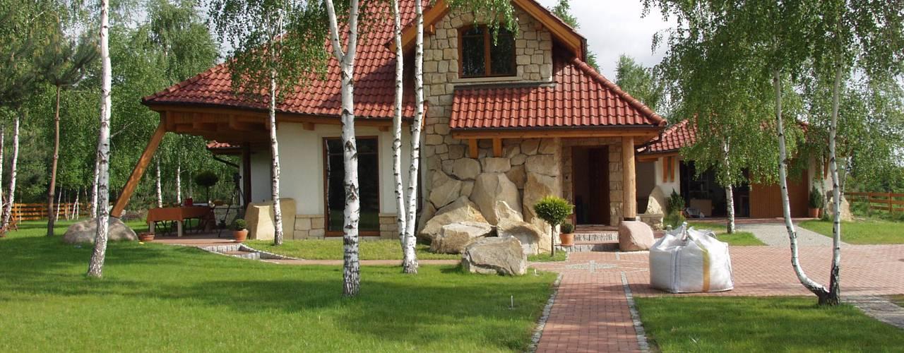 Dom Kazia II G2 - niebanalny, idealny! Klasyczne domy od Pracownia Projektowa ARCHIPELAG Klasyczny