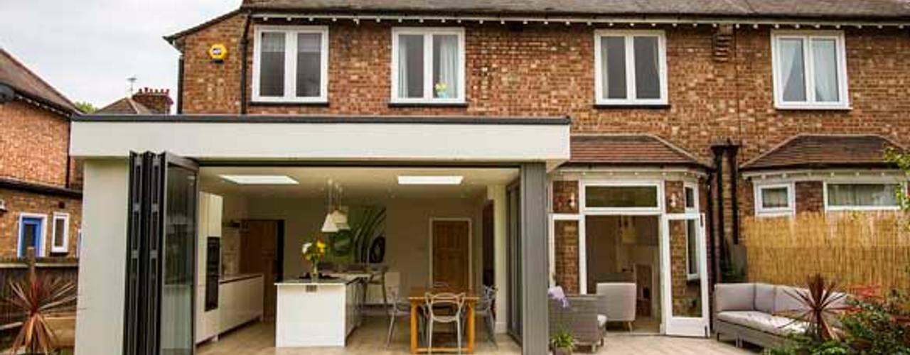Kitchen Extension – Strawberry Hill, Twickenham Modern kitchen by Cube Lofts Modern