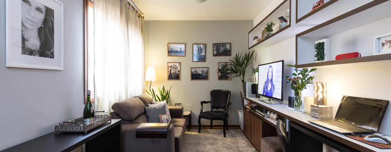 RDC | Estar Salas de estar modernas por Kali Arquitetura Moderno