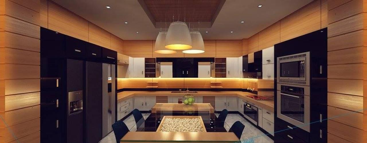 Cocinas de estilo  por triangle,