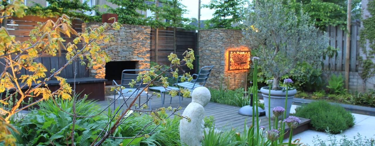 Hoveniersbedrijf Guy Wolfs Jardin moderne Ardoise