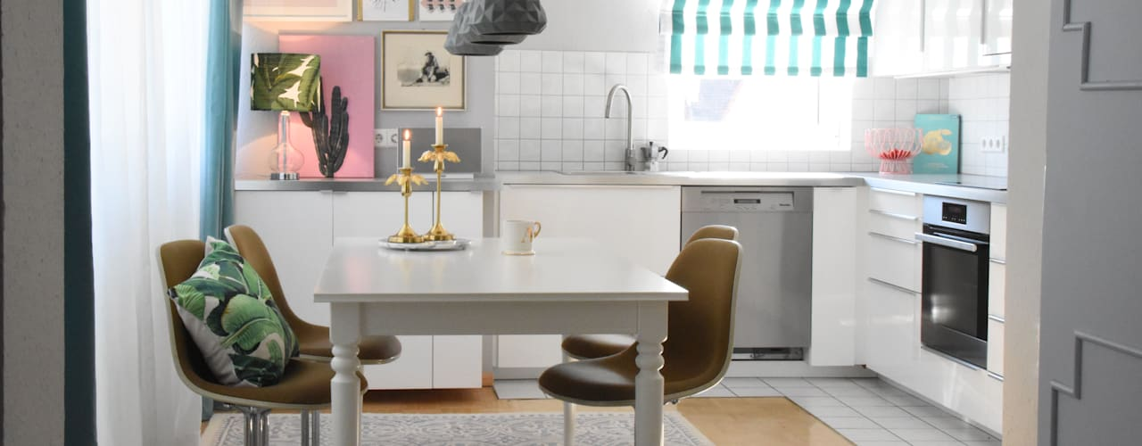 Столовые комнаты в . Автор – Homemate GmbH, Тропический