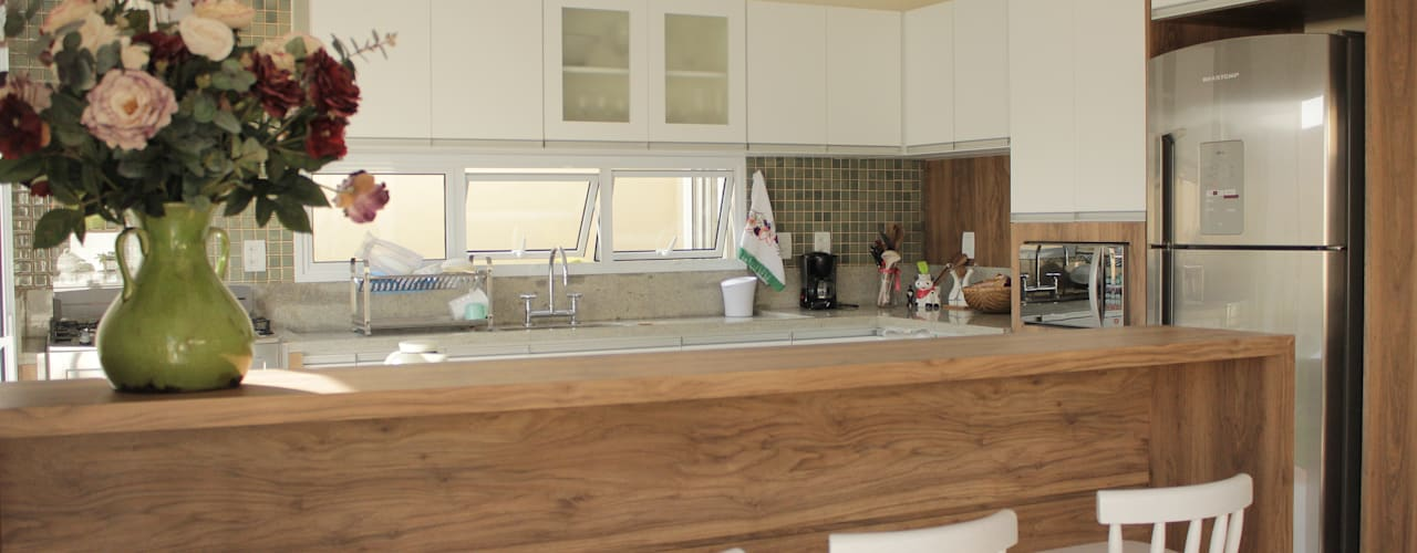 Projekty,  Kuchnia zaprojektowane przez canatelli arquitetura e design