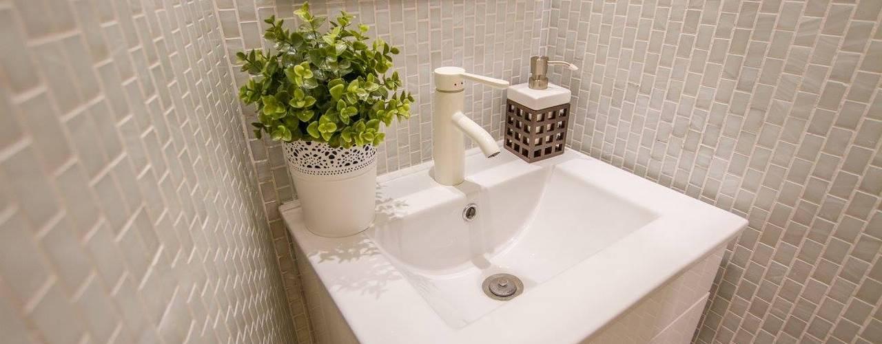 Casa dos Mercantéis Casas de banho modernas por GRAU.ZERO Arquitectura Moderno