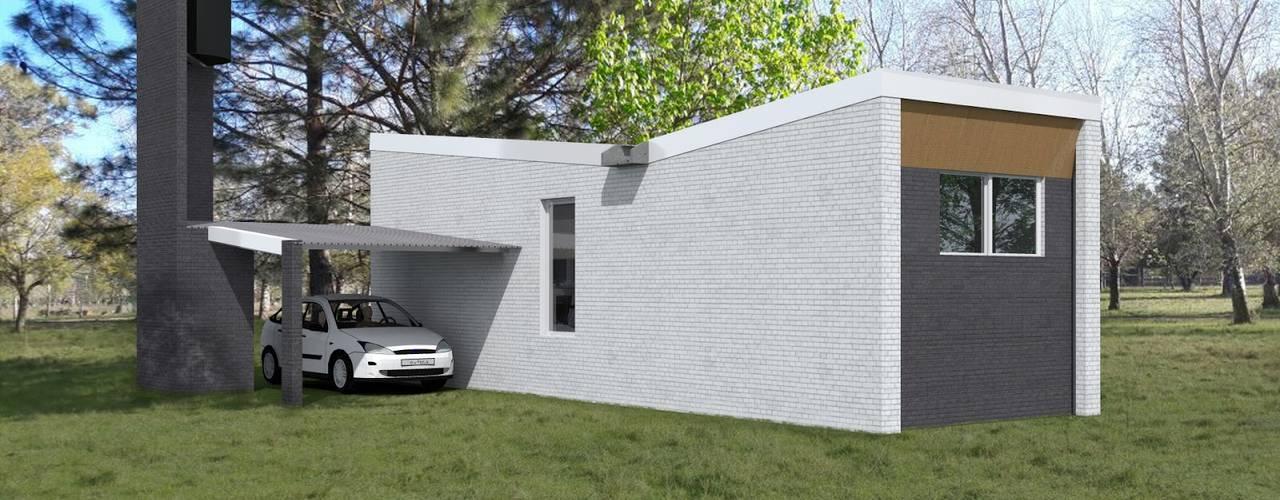 Дома в . Автор – VHA Arquitectura