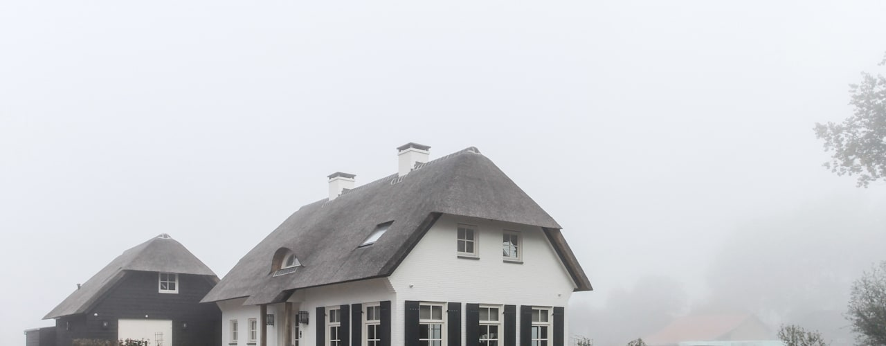 Landelijke huizen van homify Landelijk