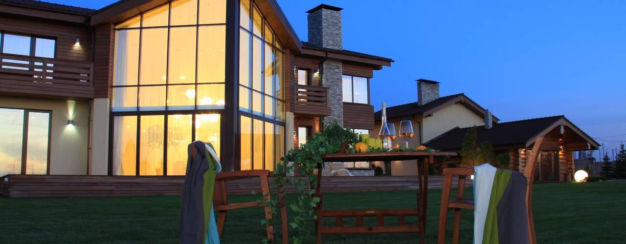 """Реализованный проект компании """"Мечты сбываются"""" 2010 г. - дом на озере Аргази:  в . Автор – Компания архитекторов Латышевых 'Мечты сбываются'"""