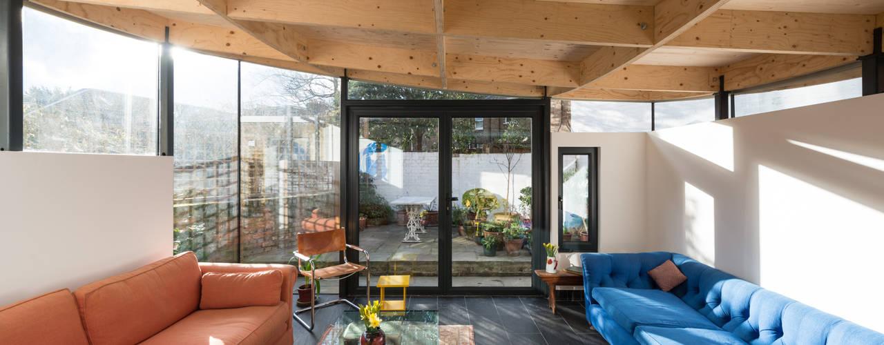 Independent Place MW Architects 现代客厅設計點子、靈感 & 圖片