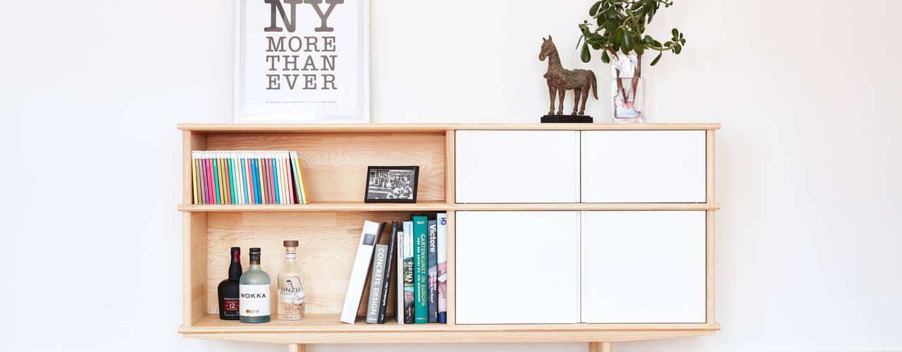 Modulares Sideboard aus Massivholz :   von Neuvonfrisch - Möbel und Accessoires