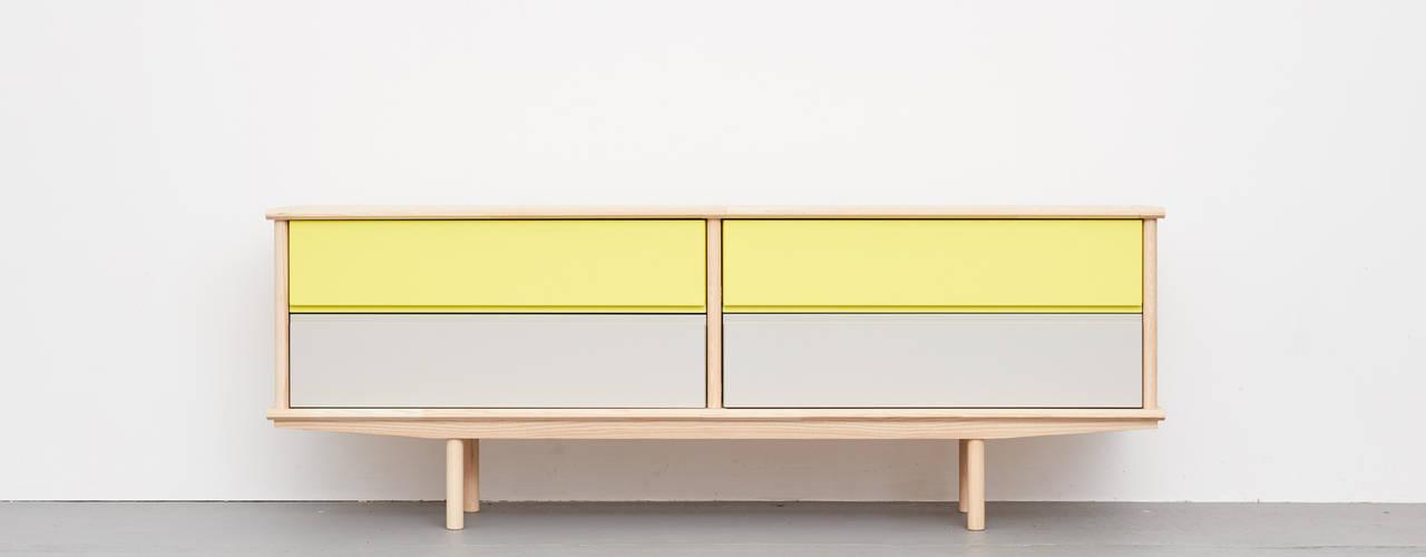 Modulares Sideboard aus Massivholz : modern  von Neuvonfrisch - Möbel und Accessoires,Modern