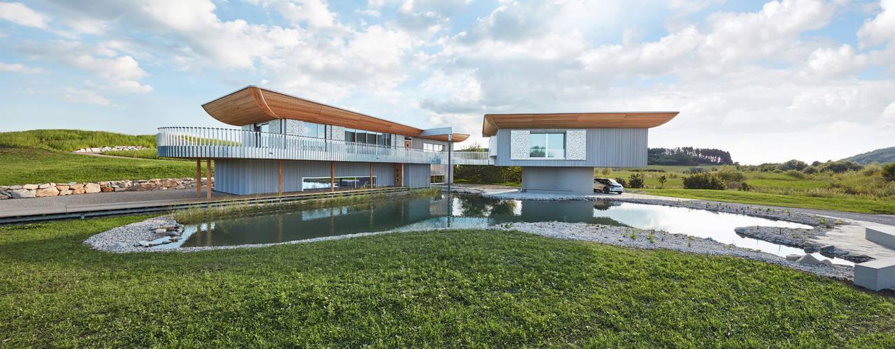Projekty,  Domy zaprojektowane przez Bau-Fritz GmbH & Co. KG
