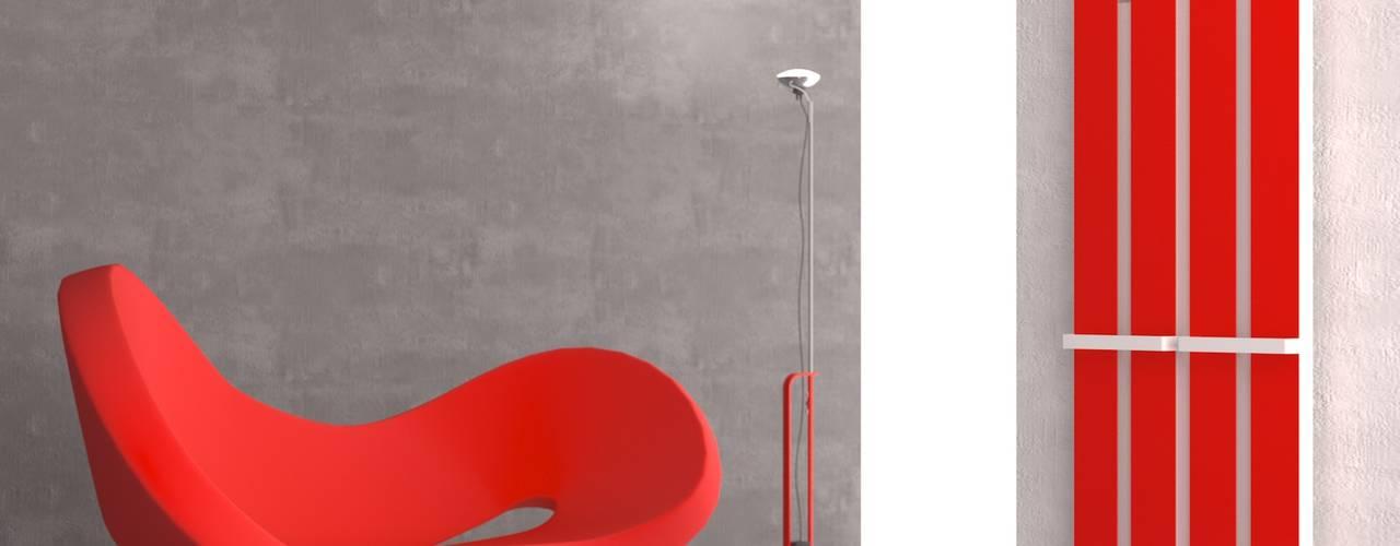 Design Heizkörper von K8 Radiatori:  Badezimmer von RF Design GmbH,