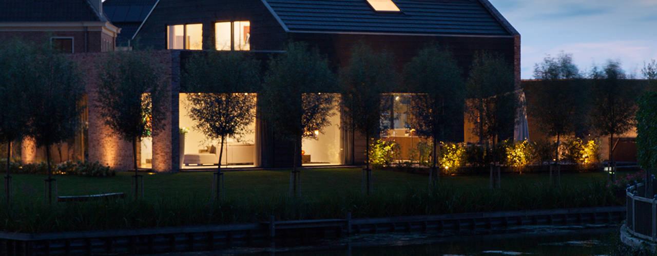 Gekroonde Haeringh: moderne Huizen door Mark Fuller Architects