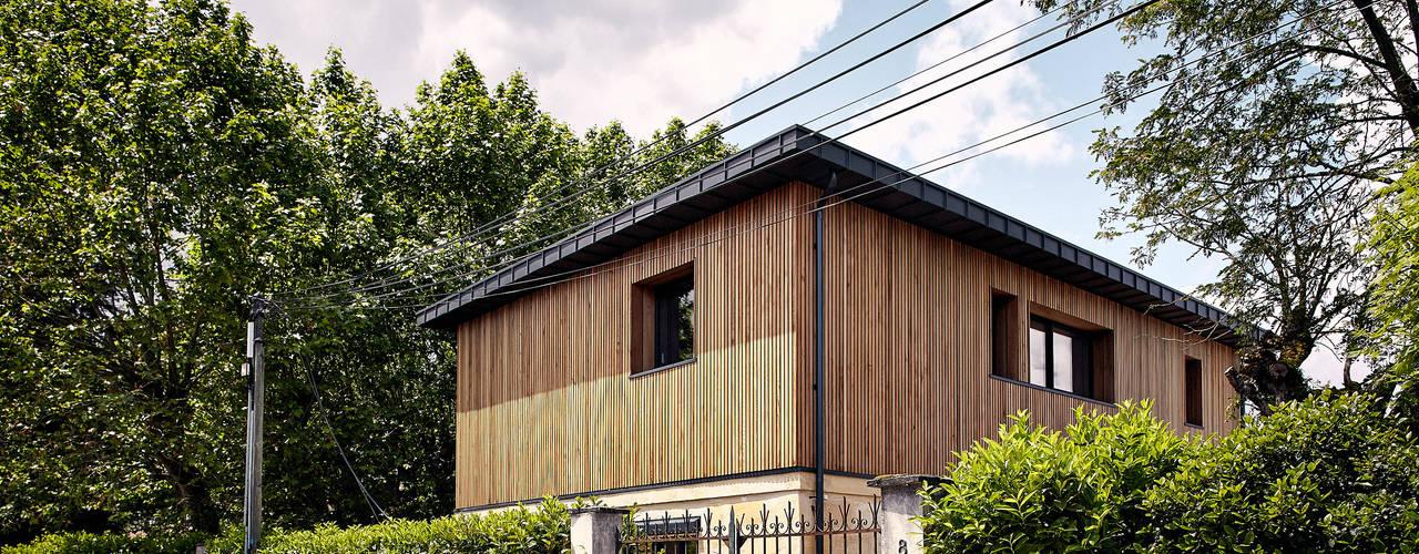 Modern home by Cendrine Deville Jacquot, Architecte DPLG, A²B2D Modern