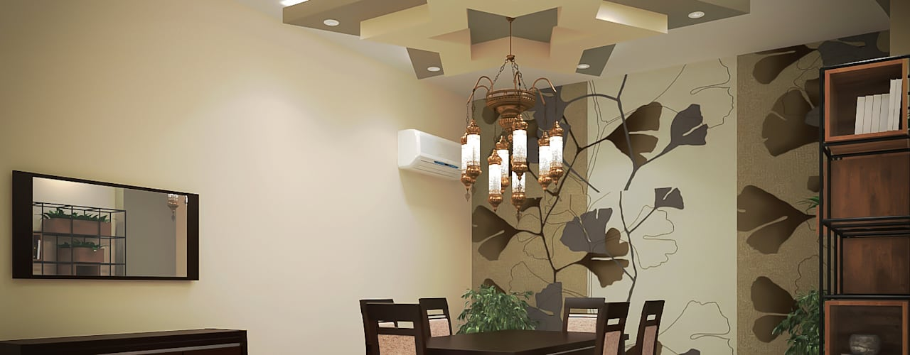 Modern dining room by EL Mazen For Finishes and Trims Modern