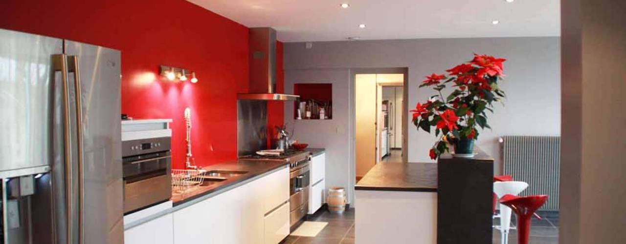 مطبخ تنفيذ Koya Architecture Intérieure