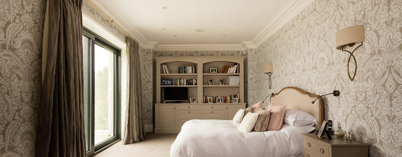 Bedroom by Des Ewing Residential Architects, Classic