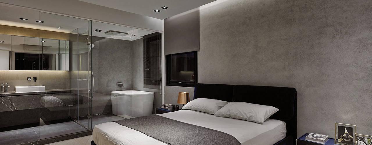 Moderne Schlafzimmer Von 源原設計 YYDG INTERIOR DESIGN