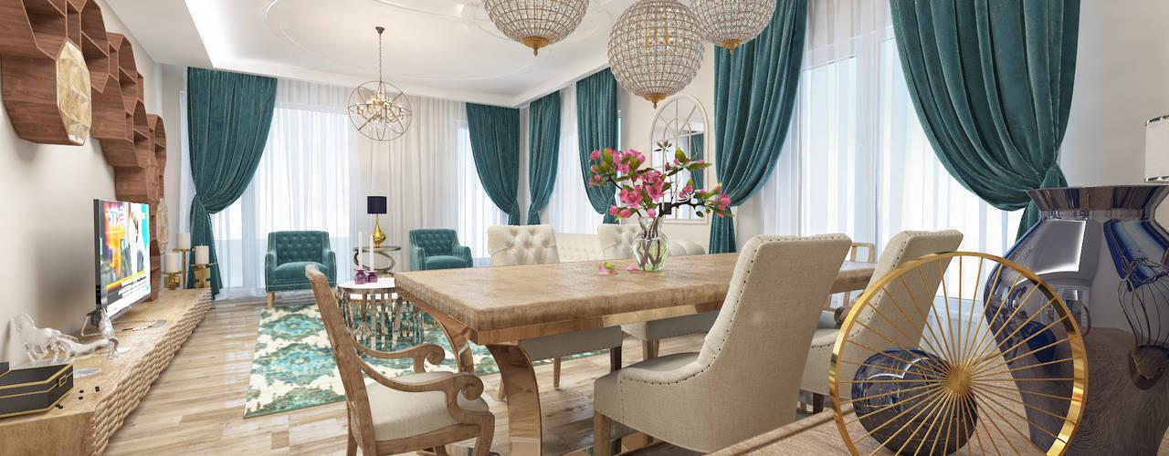 Living room by nihle iç mimarlık