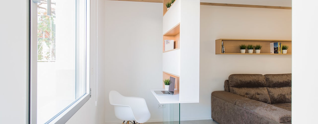 Estudios y biblioteca de estilo  por Pablo Muñoz Payá Arquitectos