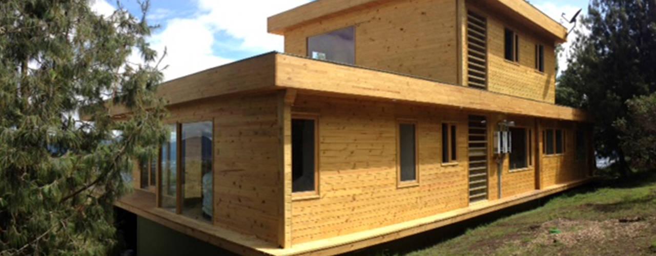 Projekty,  Domy zaprojektowane przez Taller de Ensamble SAS