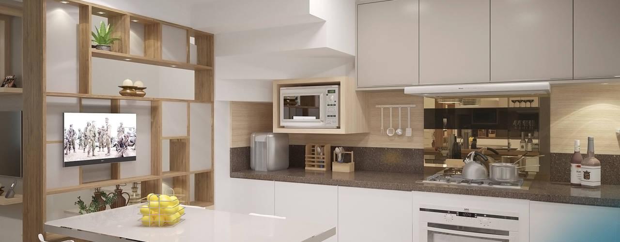 Residência Souza Cozinhas clássicas por studio vtx Clássico