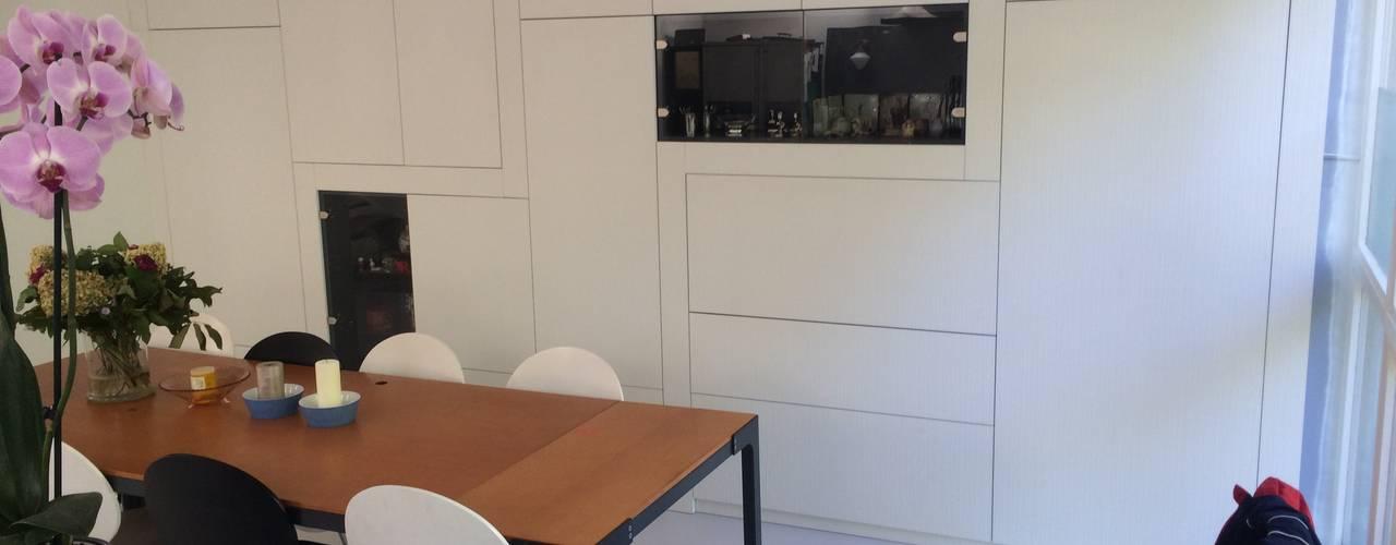 verbouwing Amsterdam Noord Moderne eetkamers van Studio Kuin BNI Modern