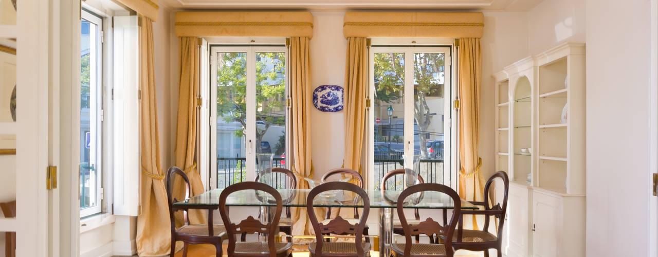 Dinning Room: Salas de jantar  por Pedro Brás - Fotografia de Interiores e Arquitectura | Hotelaria | Imobiliárias | Comercial
