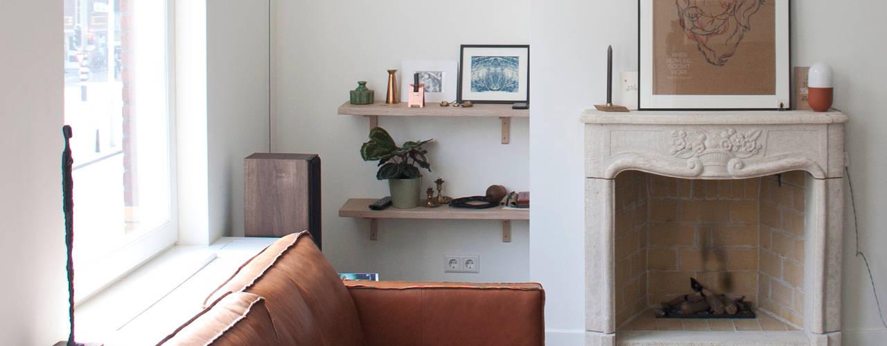 Salon scandinave par Studio Buijs Scandinave