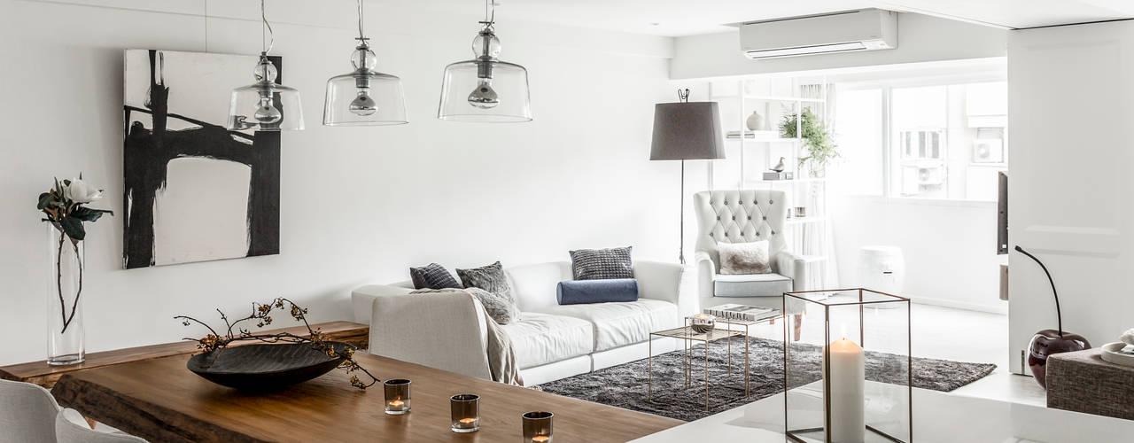Ruang Keluarga by 潤澤明亮設計事務所