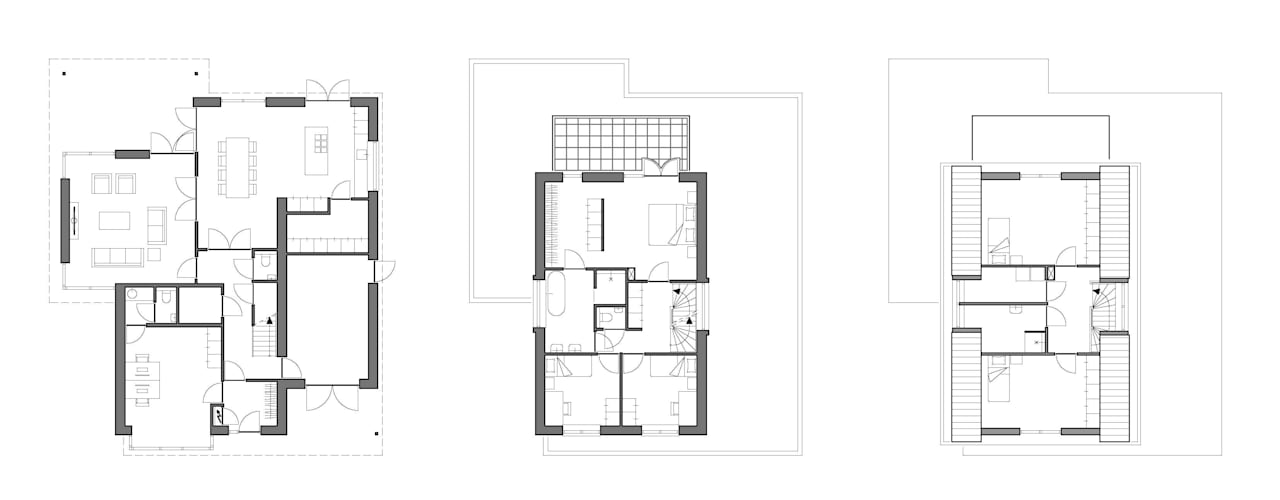 Houses by Villa Delphia