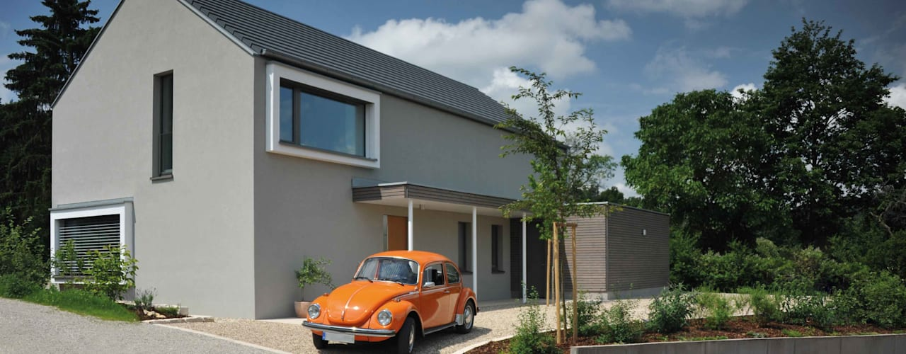 Rumah Modern Oleh GRIMM ARCHITEKTEN BDA Modern