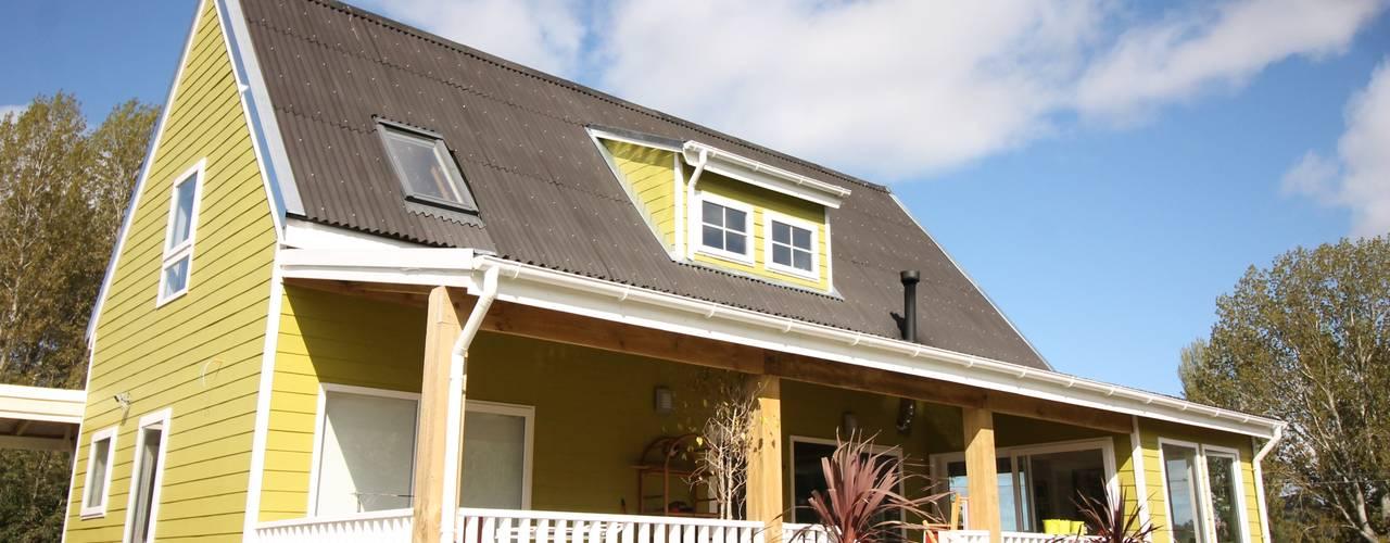 Casa Stehr: Casas de estilo  por Kanda arquitectos