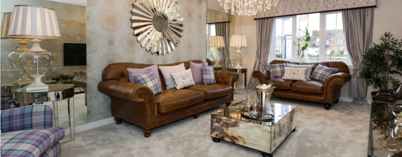 Take a step into luxury each day.. Graeme Fuller Design Ltd Moderne Wohnzimmer