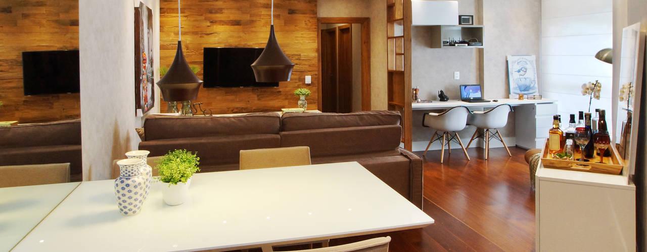 Comedores de estilo  por Serra Vaz Arquitetura e Design de Interiores
